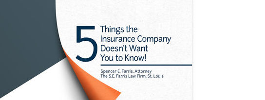 5 Things the Insurance Company Doesn't Want You to Know